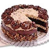 Eggless Chocolate Cake - Delhi Special