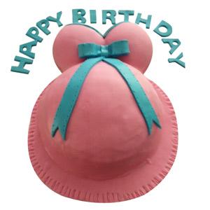 Baby Bump Cake - Delhi Special