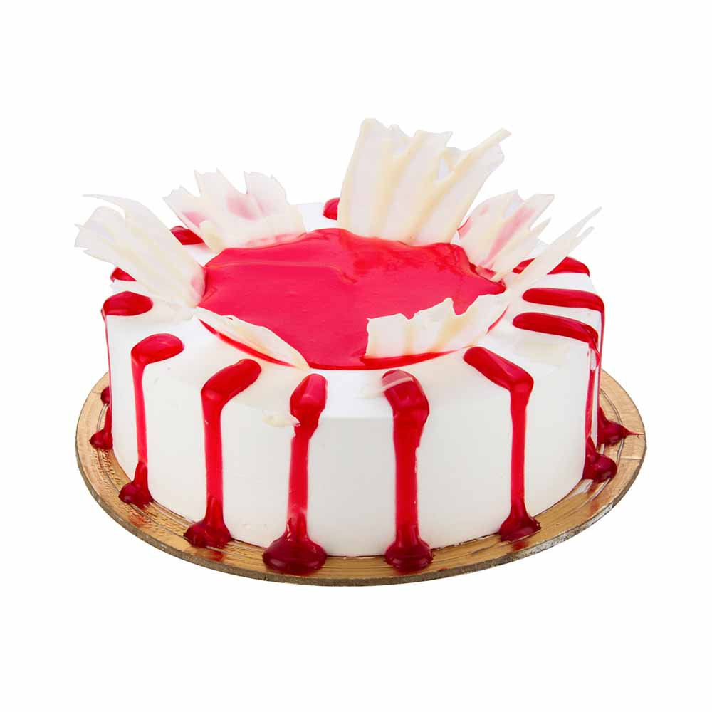 Bikanervala Eggless Strawberry Cake - Delhi Special