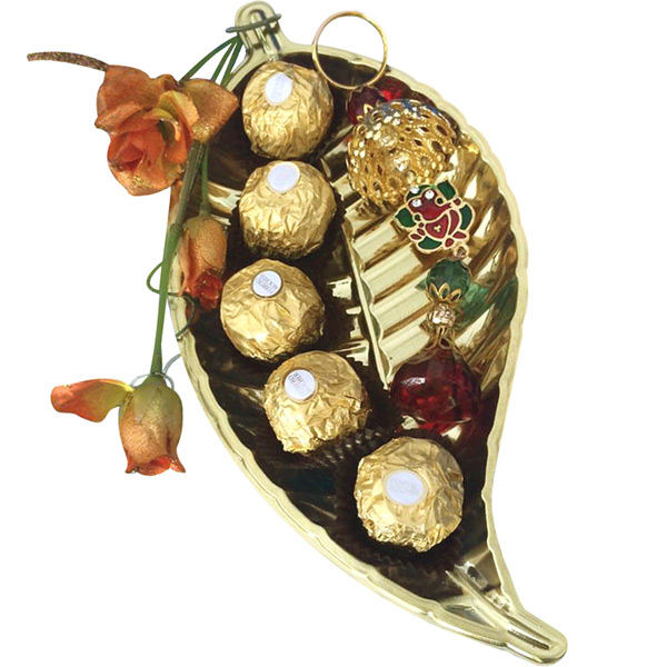 Ganesha Hanging with Ferrero Rochers
