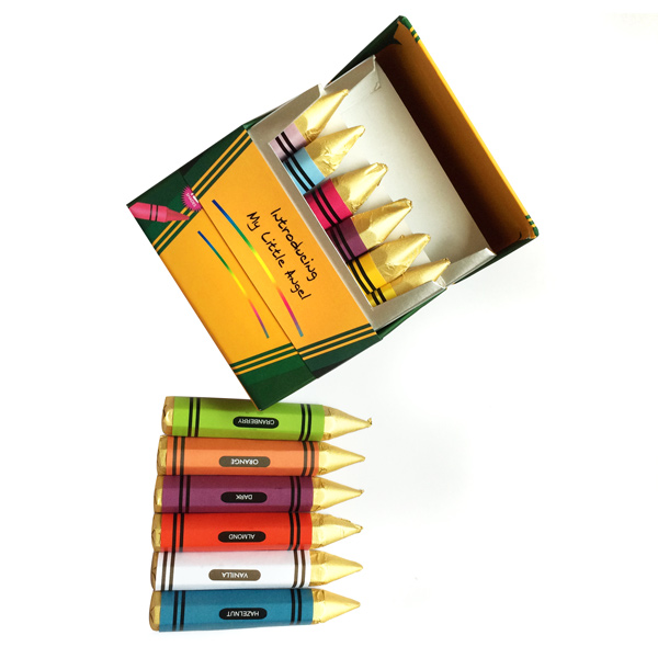 Belgian Chocolates-Chocolate Crayons