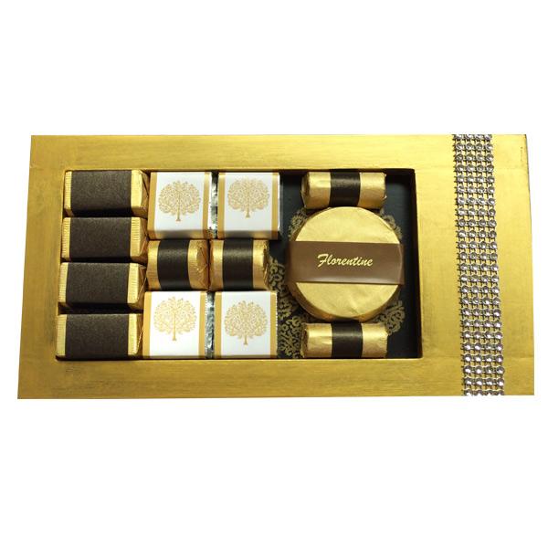 Gold Florentine Platter