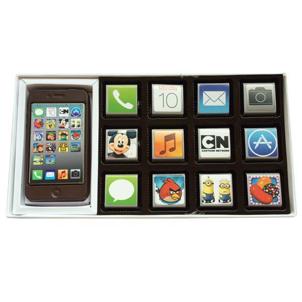 Iphone Belgian Chocolate Box