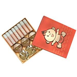 Belgian Chocolates-Pink Polka Chocolate Box