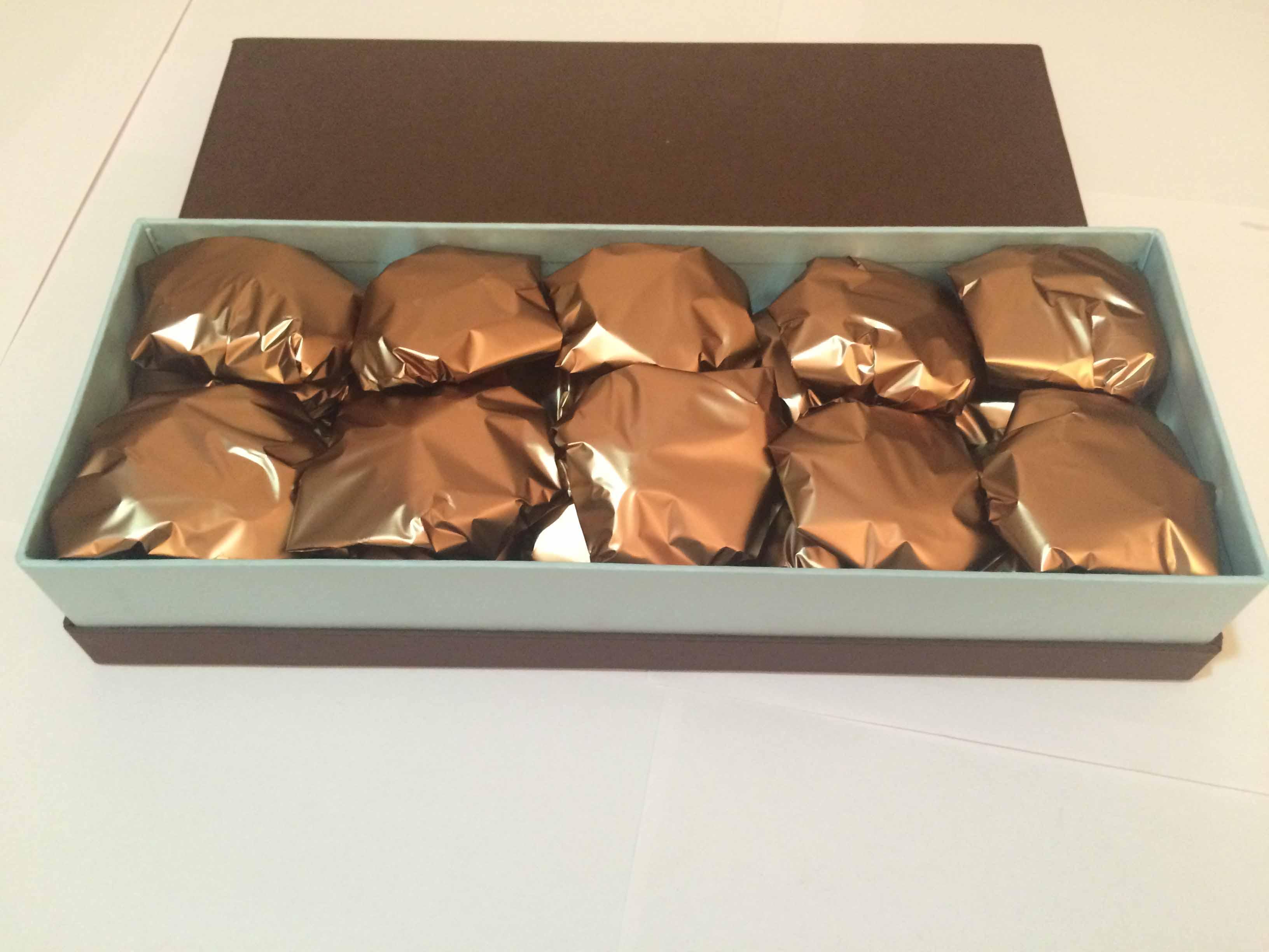 Caramel Crunchies Box of 12pcs of Crunchies