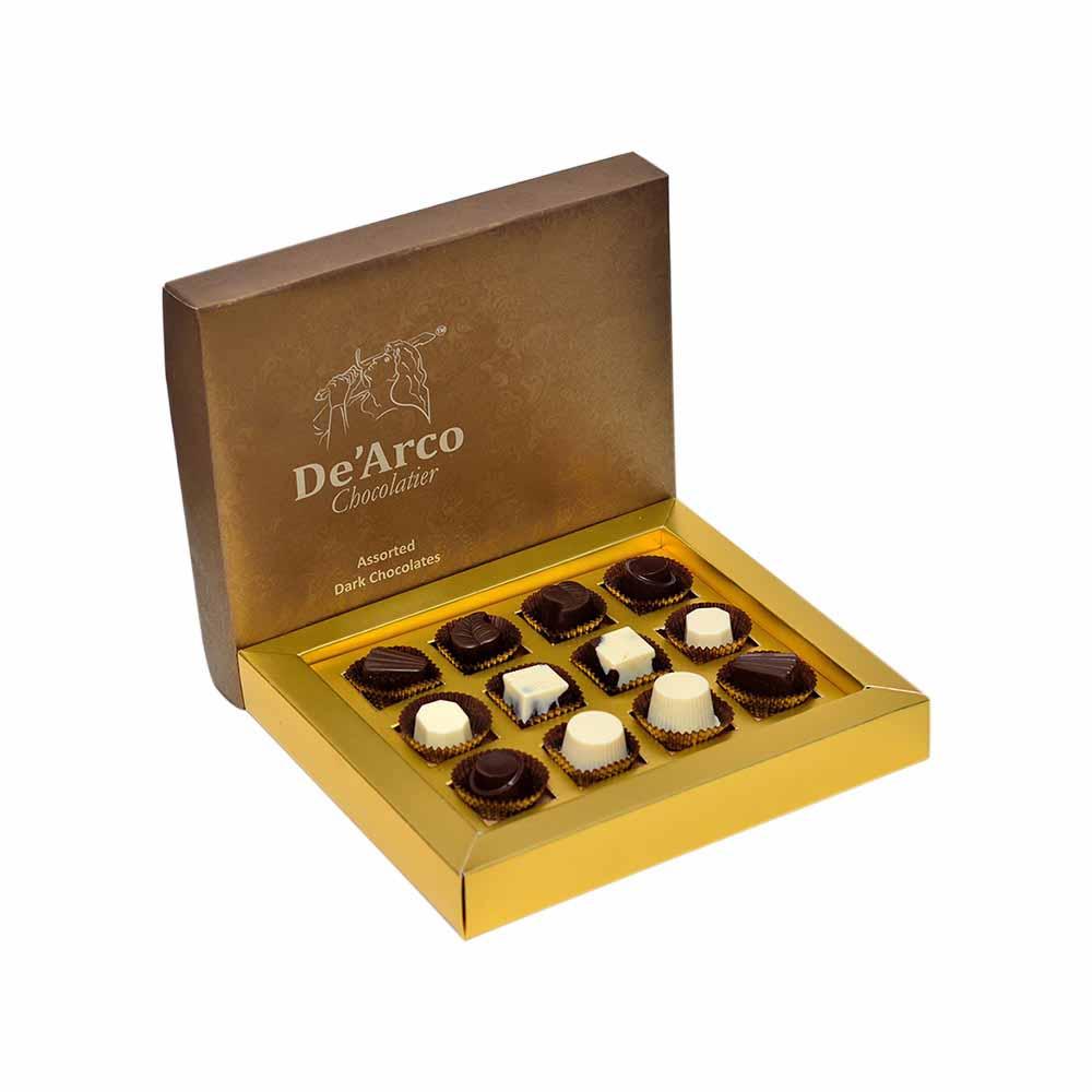 De'Arco Chocolatier-De'Arco Chocolatier Luxurious Four 147 g