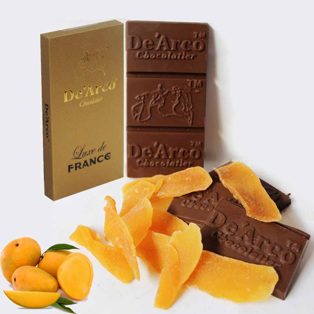 De'Arco Chocolatier 30% Cocoa Luscious Mango 80 g