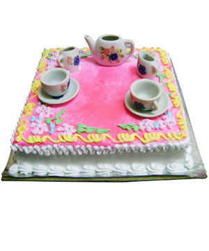 Tea Party Theme Cake - Delhi & NCR Special