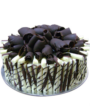 White Cigar Chocolate Cake - Delhi & NCR Special