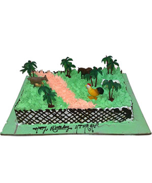 Farm House Theme Cake - Delhi & NCR Special