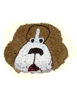 Doggy Theme Cake - Delhi & NCR Special