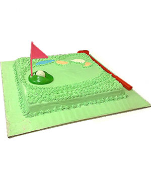 Golf Kit Theme Cake - Delhi & NCR Special