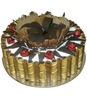 Designer Black Forest Cake - Delhi & NCR Special