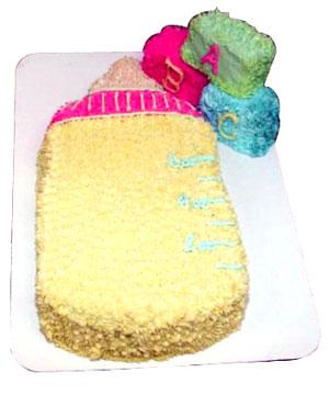 Baby Bottle Cake - Delhi & NCR Special