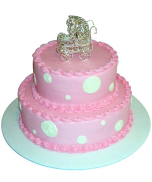 Baby Two Tier Cake - Delhi & NCR Special