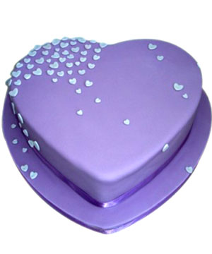 Purple Chocolate Cake - Delhi & NCR Special