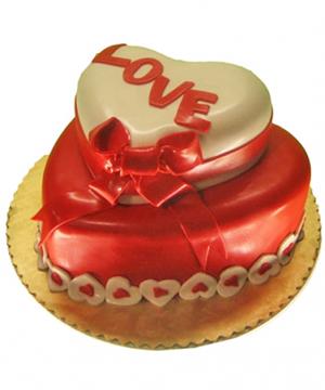 Double Tier Cake - Delhi & NCR Special