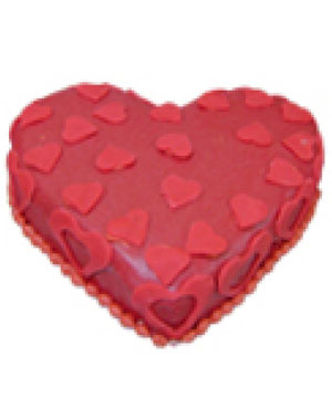 Mini Hearts Cake - Delhi & NCR Special