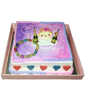 Smiley Cake - Delhi & NCR Special