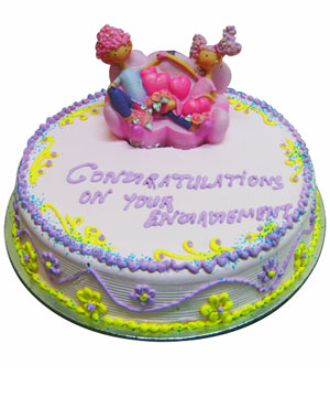 Lilac Chocolate Truffle Cake - Delhi & NCR Special