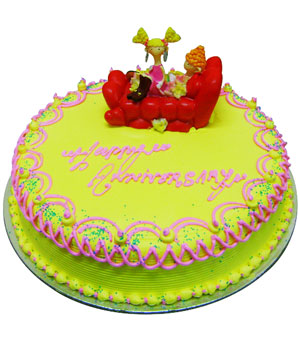 Happy Anniversary Cake - Delhi & NCR Special