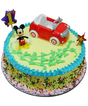Mickey Mouse Theme Cake - Delhi & NCR Special