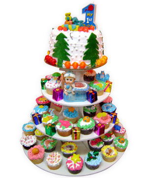 Christmas Cup Cakes Party - Delhi & NCR Special