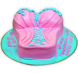 Bustier Cake - Delhi & NCR Special