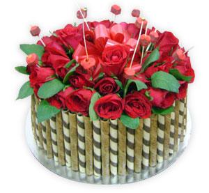 Munchini Flower Cake - Delhi & NCR Special