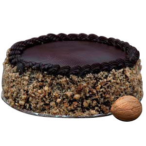 Chocolate Walnut Cake - Pune Special