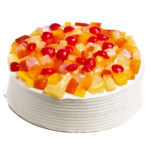 Fresh Mix Fruit Cake - Pune Special