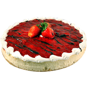 Strawberry Cheese Cake - Pune Special