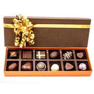 Velvet Fine Chocolates-Velvet Fine Chocolates ' Assorted Box 12 Pieces