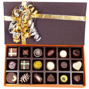 Velvet Fine Chocolates-Velvet Fine Chocolates ' Assorted Box 18 Pieces