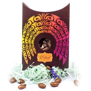 Velvet Fine Chocolates-Velvet Fine Chocolates' Chocolate Almond box