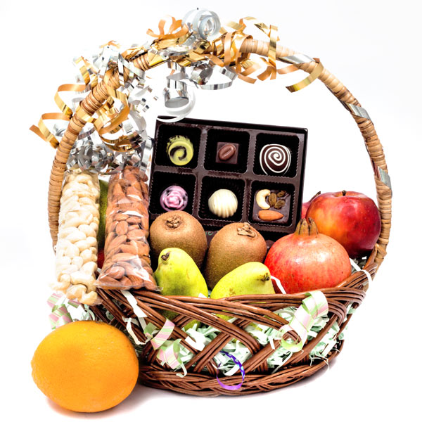 Velvet Fine Chocolates' Fruit Hamper