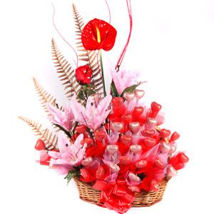 Velvet Fine Chocolates' Pink Lily