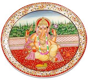 Hand Painted Lord Ganesha