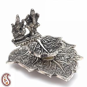 Handcrafted Lakshmi-Ganesha Deepak