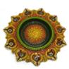 Gift Big Round Diya Tray on Diwali