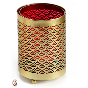 Handcrafted Metal Reusable Tea Light Holder