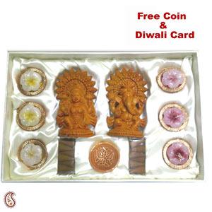 Ganesh Lakshmi Idol Gift set
