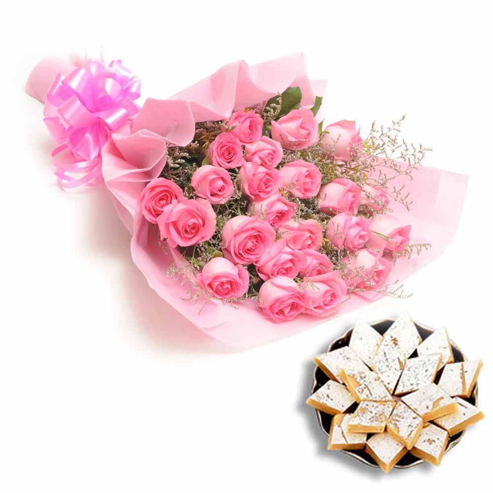 Roses and Sweets for Diwali