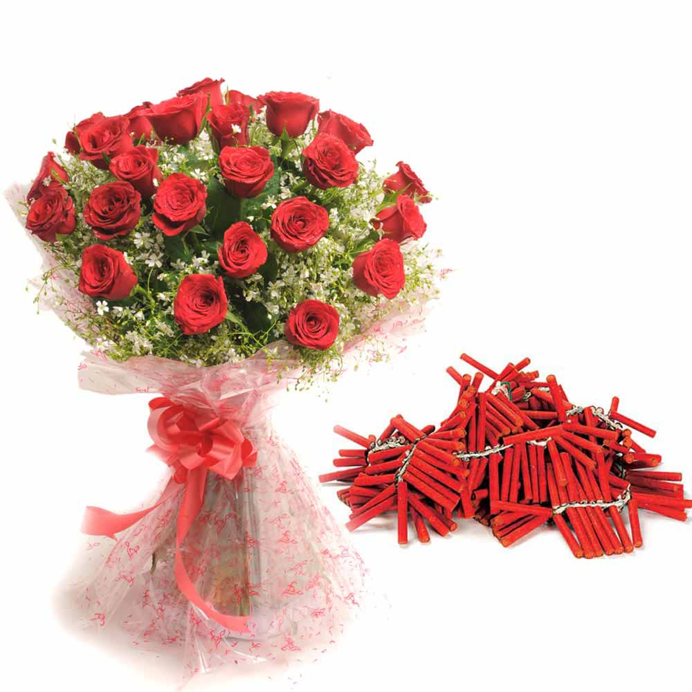 Roses and Crackers Bunch