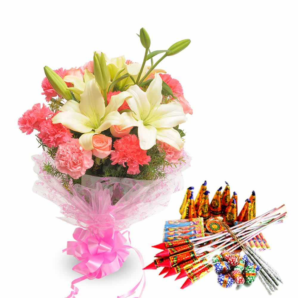 Exotic Bouquet and Crackers
