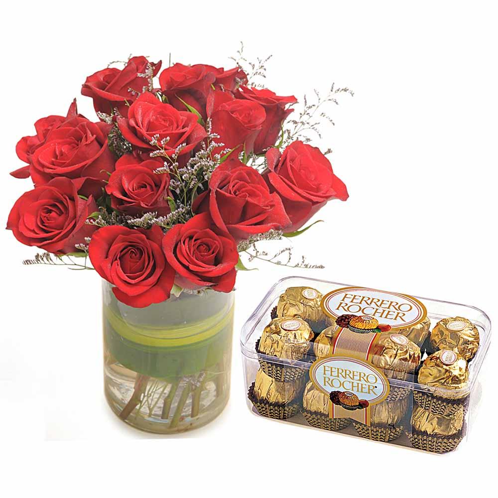Roses and Ferrero Diwali