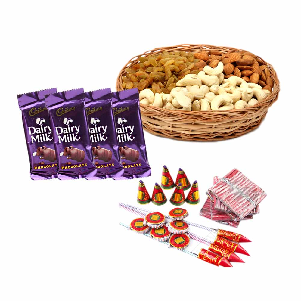 Mix Dryfruits and Crackers