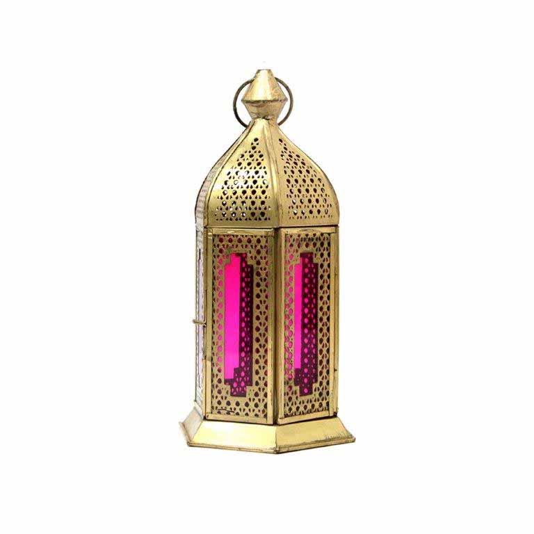Antique Pink Lantern