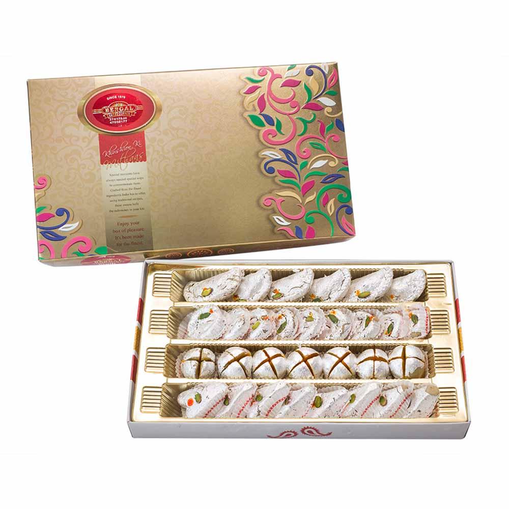Bengal Sweet's Exotic Kaju Collection-800gms