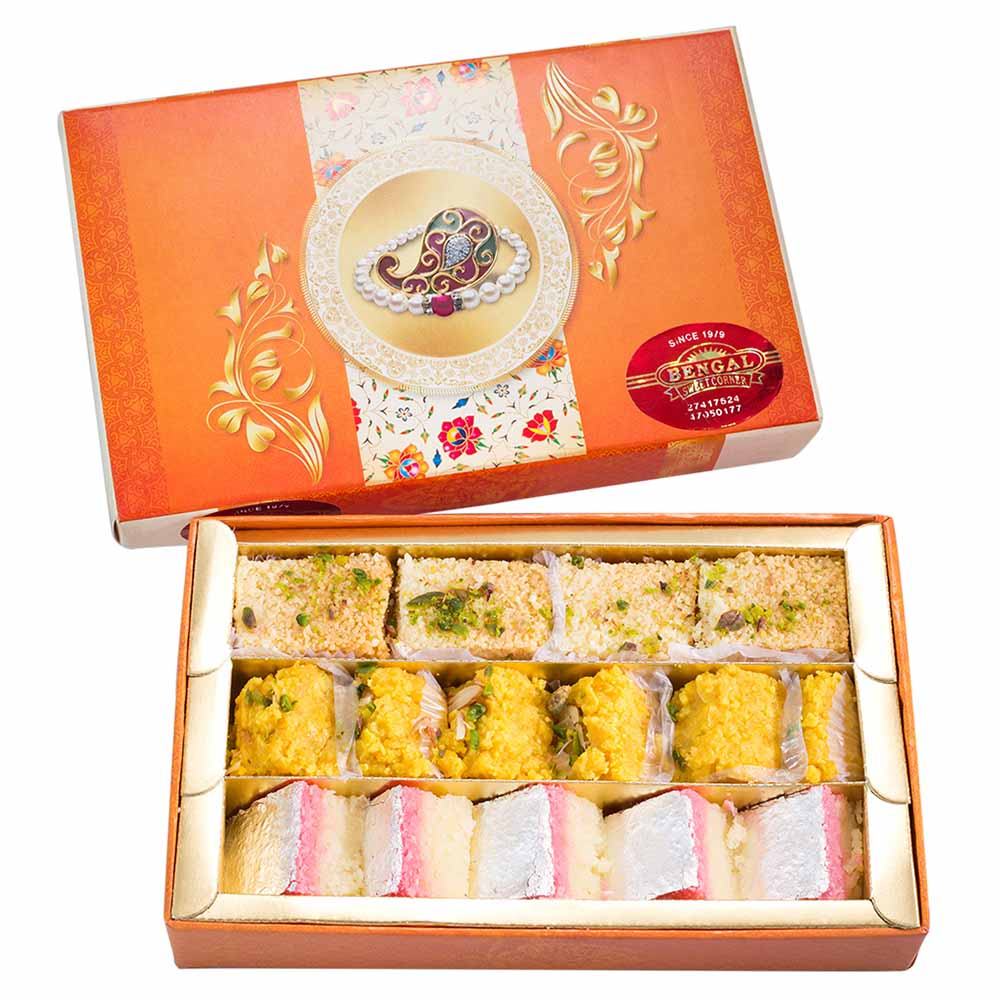 Traditional Mithai-Bengal Sweet's Sweet Collection-500gms